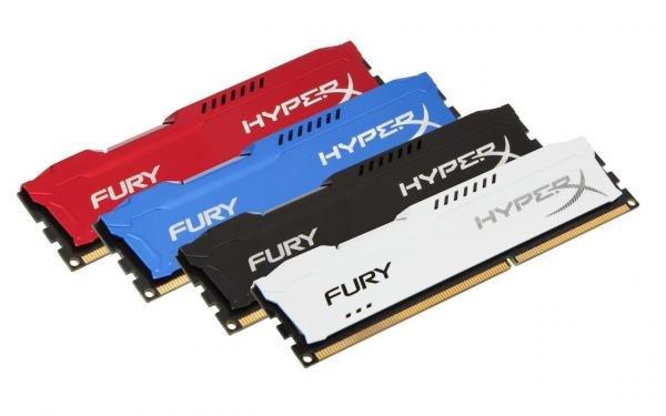 Tudo sobre 'Memória Ddr3 4gb 1600 Hyperx Fury Branca Kingston'