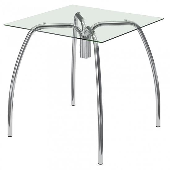 Mesa com Vidro Incolor 1502