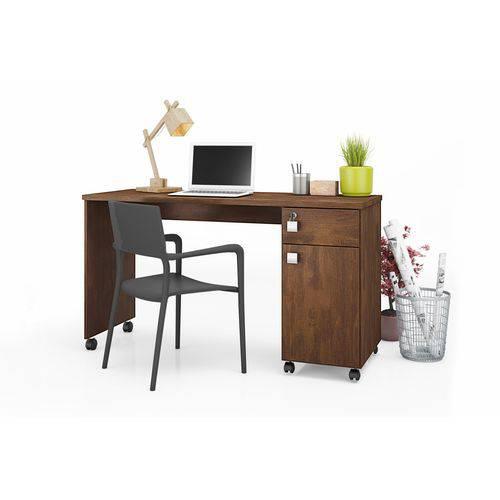 Tudo sobre 'Mesa Computador Office Malta Canela - Lukaliam'