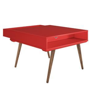 Mesa de Centro EDN Prince - Vermelha