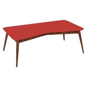 Mesa de Centro Eme - Rama - Vermelho - Vermelho