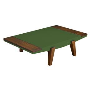 Mesa de Centro Imperial - Verde Musgo - Verde Musgo