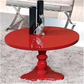 Mesa de Centro Intense Patrimar - Vermelho
