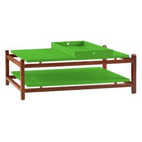 Mesa de Centro Uno - Verde Limão - Verde Limão