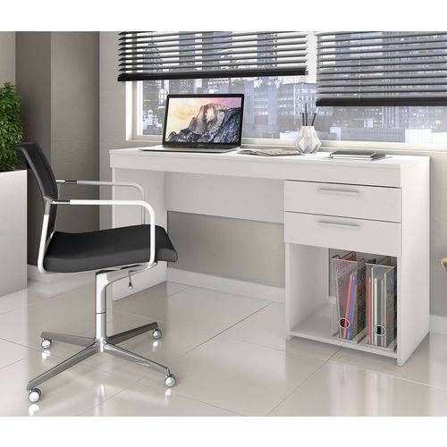Tudo sobre 'Mesa de Escritório Office Branco New Notável Móveis'