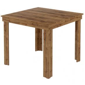 Mesa de Jantar Quadrada 1555 - Carraro - MARROM