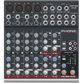 Mesa de Som 12 Canais Am125 Phonic