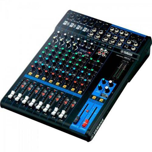 Mesa de Som Analógica 12 Canais Mg12 Yamaha
