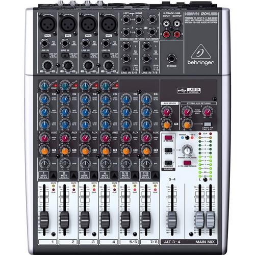 Mesa de Som Análogica Xenyx-1204 Usb - Behringer