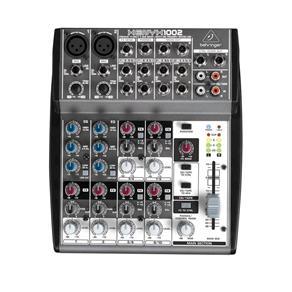 Mesa de Som Behringer Mixer Xenyx 1002 110V