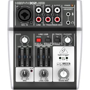 Mesa de Som Behringer Xenyx 302 USB - MS0009