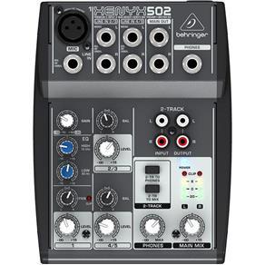 Mesa de Som Behringer Xenyx 502 C/ 5 Entradas e Pré Amp 110V