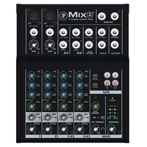 Mesa de Som Mackie Mix8