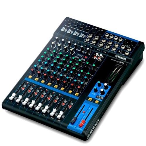 Mesa de Som Yamaha Mg12 - 12 Canais