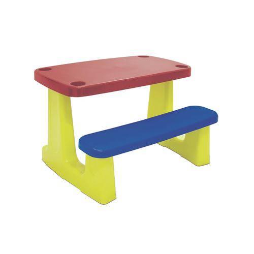 Tudo sobre 'Mesa Escolar Vermelho/Azul'
