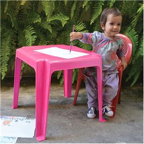 Mesa Infantil Decorada - - 01020301001 - Antares Plásticos