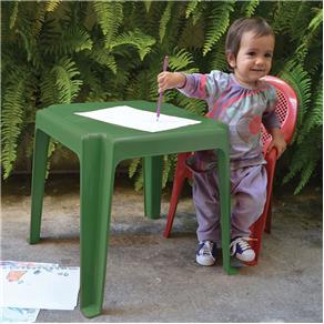 Mesa Infantil Decorada - Verde - 01020301003 - Antares Plásticos