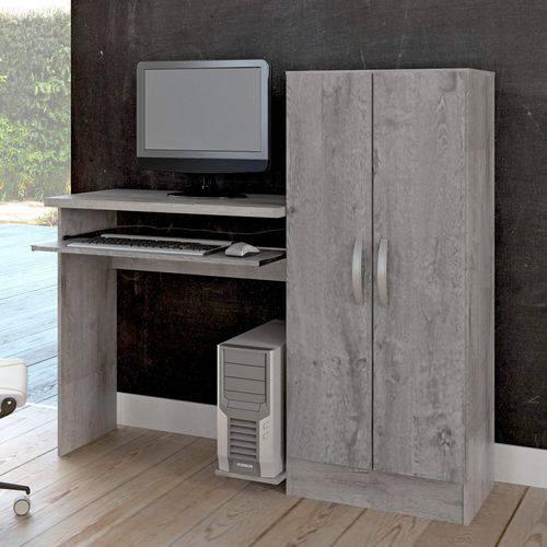 Tudo sobre 'Mesa para Computador com Armário 2 Portas Irlanda Atualle Móveis Vanilla Rústico'