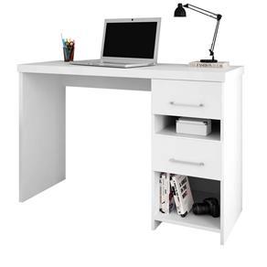 Mesa para Computador Notebook Escrivaninha Duna - BRANCO