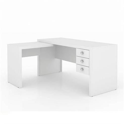 Tudo sobre 'Mesa para Computador Office Branca'