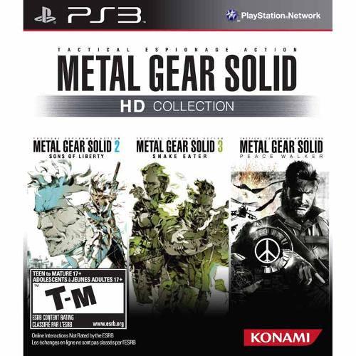 Tudo sobre 'Metal Gear Solid Hd Collection - Ps3'