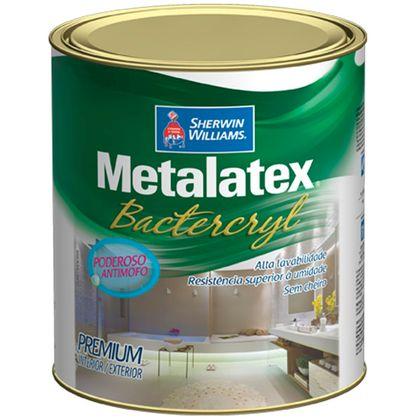 Tudo sobre 'Metalatex Bactercryl Sem Cheiro - Acetinado Branco 900 Ml'