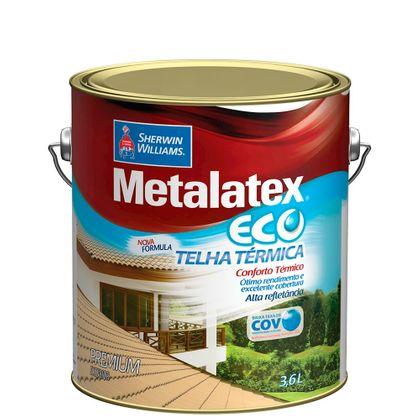 Tudo sobre 'Metalatex Eco Telha Térmica 3,6 Litros Cerâmica Ônix'