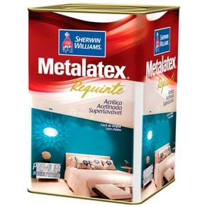 Metalatex Requinte Superlavável Sem Cheiro 18 Litros - Acetinado Branco Requinte