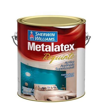 Metalatex Requinte Superlavável Sem Cheiro 3,6 Litros - Acetinado Branco Requinte
