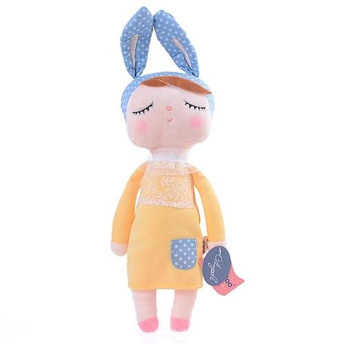 Metoo Doll Boneca Angela Yellow Bunny