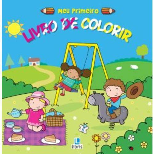 Meu Primeiro Livro de Colorir - Parquinho