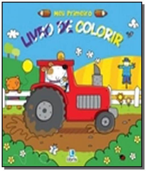 Meu Primeiro Livro de Colorir - Trator - Libris