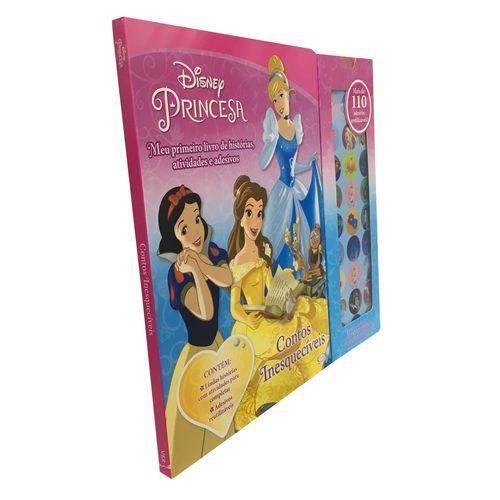 Meu Primeiro Livro de Hist. Ativ. - Princesas