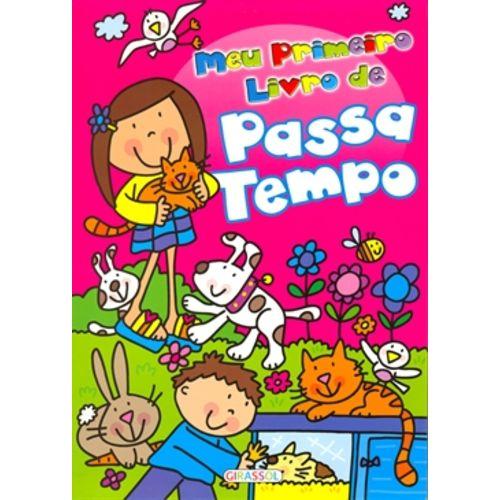 Meu Primeiro Livro de Passatempo Rosa - Animais