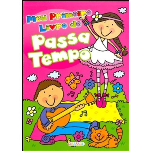 Meu Primeiro Livro de Passatempo Rosa - Bailarina