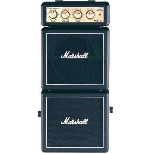 Tudo sobre 'Micro Combo para Guitarra Preto Ms-4 Marshall'