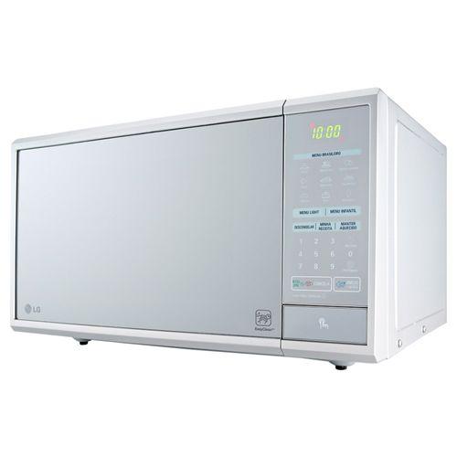 Tudo sobre 'Micro-ondas 30 Litros LG MS3059L Prata Espelhado 110V'