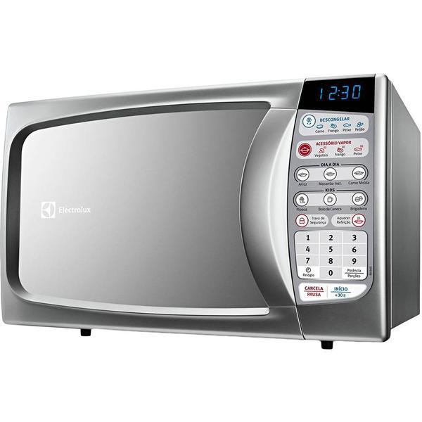 Tudo sobre 'Micro-ondas Electrolux Ma30S 20 Litros Prata'