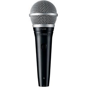 Microfone com Fio de Mão PGA 48 XLR - Shure