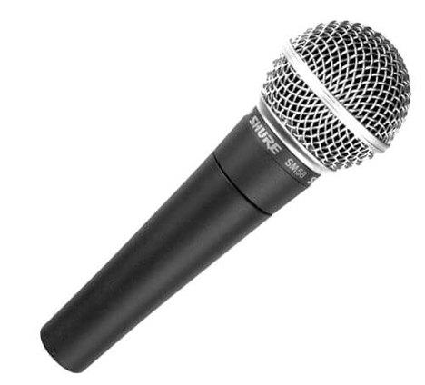 Microfone de Mão Shure Sm58 com Fio