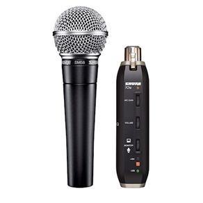 Microfone de Mão Shure SM58 - X2U