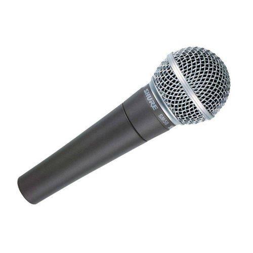 Microfone de Mão Shure Sm58lc