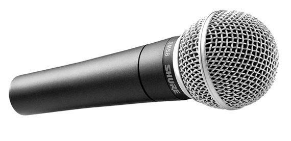 Microfone Dinâmico Shure Sm58-lc