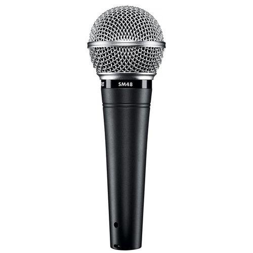 Microfone Dinamico Sm48-lc - Shure