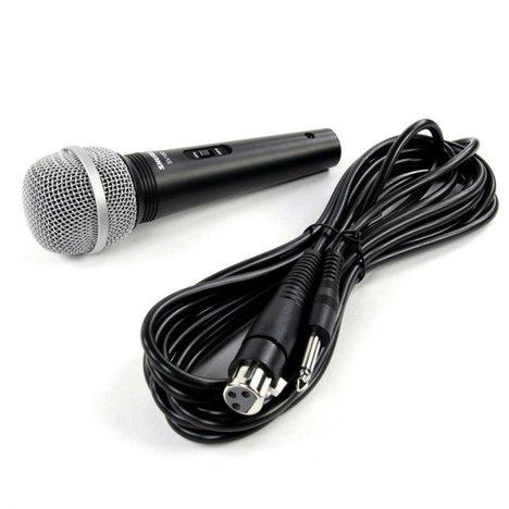 Microfone Multifuncional de Mão com Fio Sv-100 - Shure