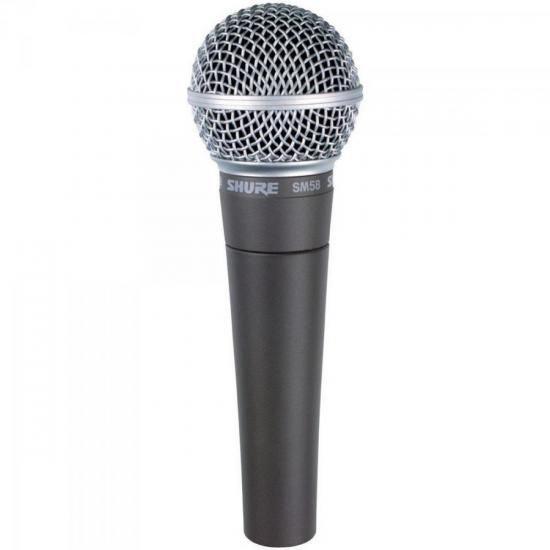 Microfone Profissional com Fio Dinamico SM58-LC Shure