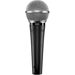 Microfone Shure Dinâmico Sm48-Lc