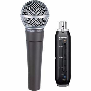 Microfone Shure Sm58 X2U