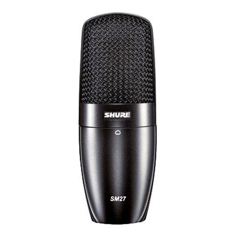 Microfone Shure Sm27lc