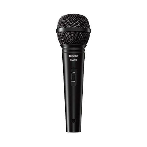 Microfone Shure Sv200 Dinâmico